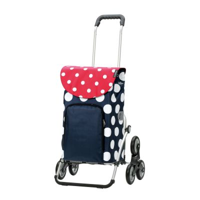 Royal Shopper (Treppensteiger) Dots blau